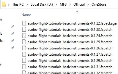 fspatch files